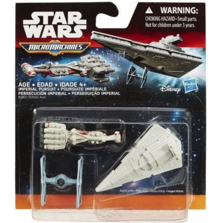 Hasbro STAR WARS Micro Machines IMPERIAL PURSUIT B3507