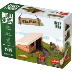 TREFL Brick Trick Buduj z Cegieł STAJNIA 60866