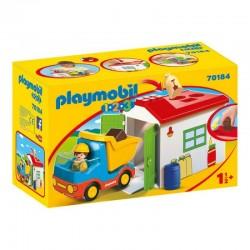 PLAYMOBIL 1.2.3. 70184 Ciężarówka z Garażem Sorterem