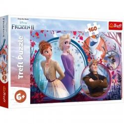 TREFL Puzzle 160 Frozen KRAINA LODU II 15374