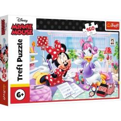 TREFL Puzzle 160 MYSZKA MINNIE I DAISY 15373