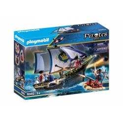 PLAYMOBIL 70412 PIRATES Statek Rotrock