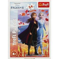 TREFL Puzzle MINI 54 el. Mini Układanka FROZEN 2 KRAINA LODU 2 19639