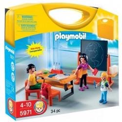 PLAYMOBIL 5971 CITY LIFE Przenośna Walizka - Szkoła