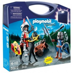 PLAYMOBIL 5972 KNIGHTS - RYCERZE Przenośna Walizka - Rycerze