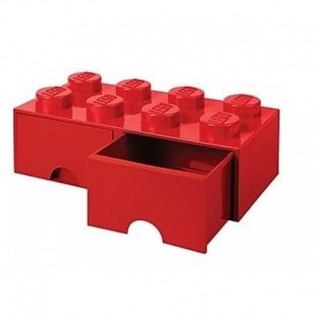 LEGO Pojemnik 8 na Zabawki z Szufladą CZERWONY 9500