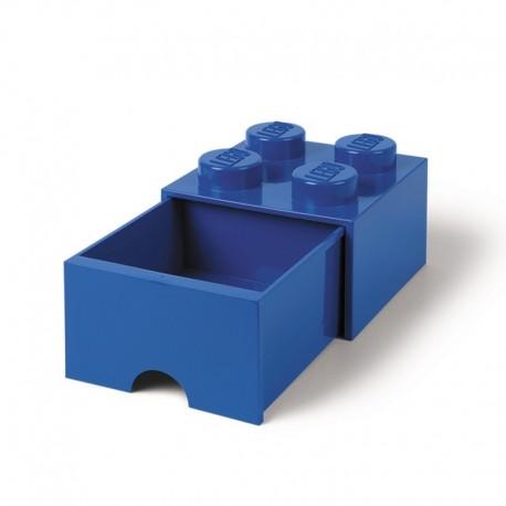 LEGO Pojemnik 4 na Zabawki z Szufladą NIEBIESKI 9425