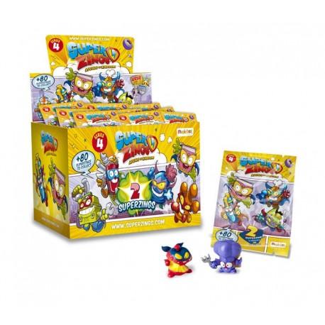 Magic Box Toys SUPER ZINGS Seria 4 SASZETKA z Dwiema Figurkami 2147