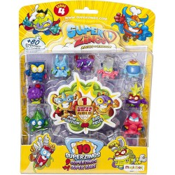 Magic Box Toys SUPER ZINGS Seria 4 Zestaw Dziesięciu Figurek 9482