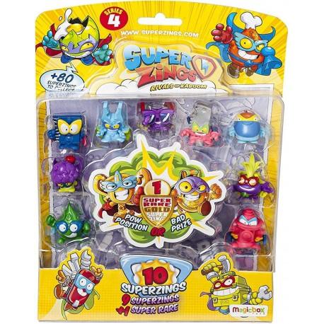 Magic Box Toys SUPER ZINGS Seria 4 Zestaw Dziesięciu Figurek 9482