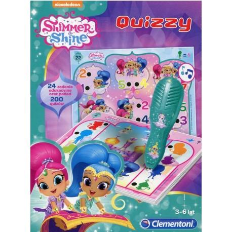 CLEMENTONI Zestaw Edukacyjny Elektroniczne Pióro QUIZZY SHIMMER&SHINE 60967
