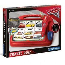 CLEMENTONI Zestaw Edukacyjny Elektroniczne Pióro CARS TRAVEL QUIZ 60966