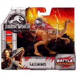 Mattel JURASSIC WORLD Battle Damage GALLIMIMUS FRX29