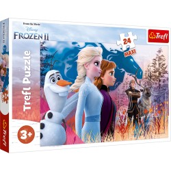 TREFL Puzzle Maxi Układanka 24 el. FROZEN 2 KRAINA LODU 2 14298