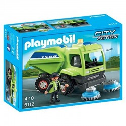 PLAYMOBIL 6112 CITY ACTION Zamiatarka Miejska