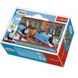 TREFL Puzzle MINI 54 el. Mini Układanka TOMEK I PRZYJACIELE 19549