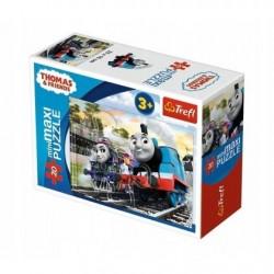 TREFL Puzzle MAXI 20 el. Mini Układanka TOMEK I PRZYJACIELE 21073