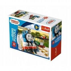 TREFL Puzzle MAXI 20 el. Mini Układanka TOMEK I PRZYJACIELE 21074