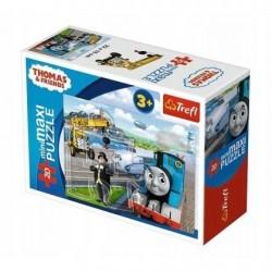 TREFL Puzzle MAXI 20 el. Mini Układanka TOMEK I PRZYJACIELE 21072