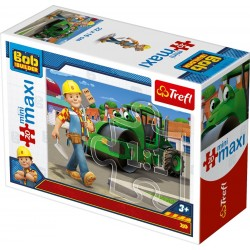 TREFL Puzzle MAXI 20 el. Mini Układanka BOB BUDOWNICZY 21009