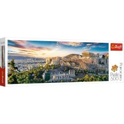 TREFL Puzzle Układanka 500 el. Panorama AKROPOL ATENY 29503