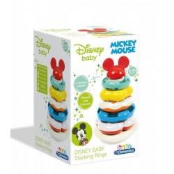 CLEMENTONI BABY Kolorowa Wieża Piramidka Mickey Mouse 17284
