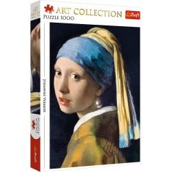 TREFL Puzzle Układanka 1000 el. Art Collection ''DZIEWCZYNA Z PERŁĄ'' JOHANNES VERMEER 10522
