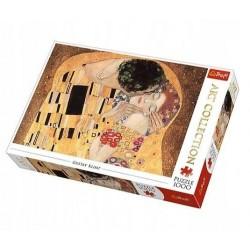 TREFL Puzzle Układanka 1000 el. Art Collection ''POCAŁUNEK'' GUSTAV KLIMT 10559