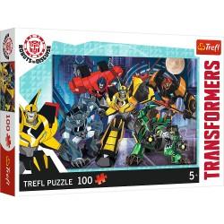 TREFL Puzzle 100 Elementów TRANSFORMERS Drużyna Autobotów 16315