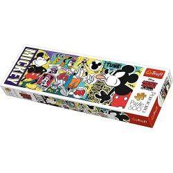 TREFL Puzzle Układanka 500 el. Panorama LEGENDARNA MYSZKA MIKI 29511