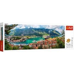 TREFL Puzzle Układanka 500 el. Panorama KOTOR CZARNOGÓRA 29506