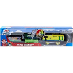 Fisher-Price TOMEK I PRZYJACIELE Trackmaster Motorized Engine RAUL I EMERSON GHK77