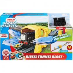 Fisher-Price TOMEK I PRZYJACIELE Trackmaster Metal Engine DIESEL TUNNEL BLAST GHK73