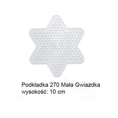 Hama - 270 - Podkładki do Koralików Hama Midi - Gwiazda