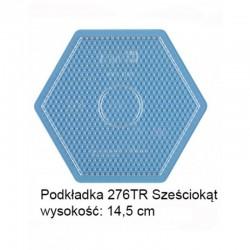 Hama - 276TR - Podkładki do Koralików Hama Midi - Sześciokąt