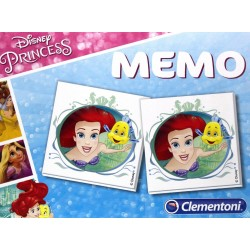 CLEMENTONI Gra MEMO Memory KSIĘŻNICZKI Disney Princess 13487