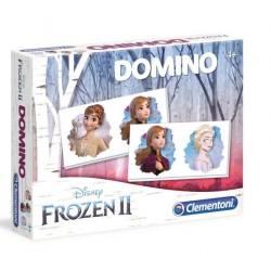 CLEMENTONI Kraina Lodu Gra DOMINO Frozen II 18053
