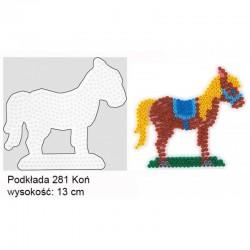 Hama 28103 Podkładki do Koralików Hama Midi Koń