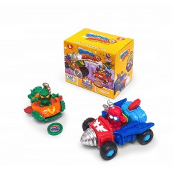 Magic Box Toys SUPER ZINGS Seria 4 Dual Box POJAZDY I FIGURKI 2215