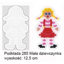 Hama - 285- Podkładki do Koralików Hama Midi - Dziewczynka