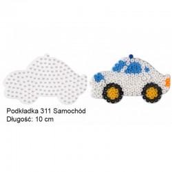 Hama - 311 - Podkładki do Koralików Hama Midi - Samochód