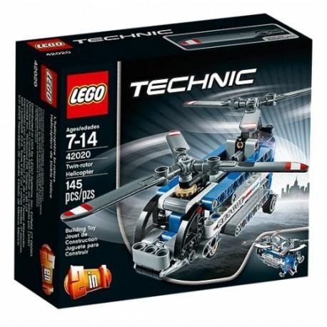 LEGO TECHNIC 42020 Śmigłowiec z Dwoma Wirnikami