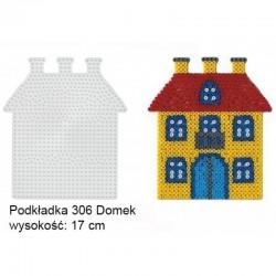 Hama - 306 - Podkładki do Koralików Hama Midi - Dom