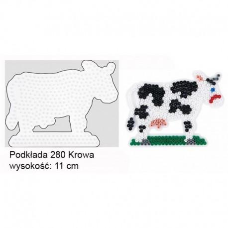 Hama - 280 - Podkładki do Koralików Hama Midi - Krowa