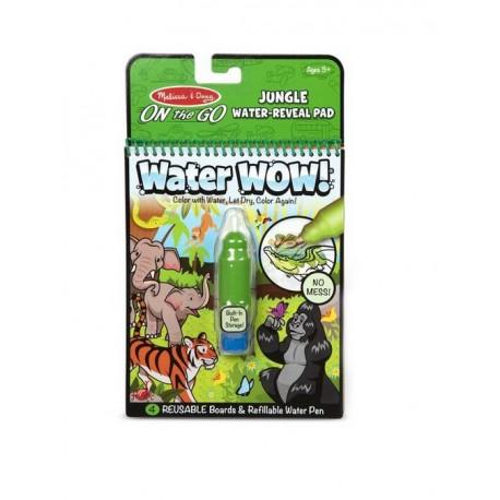 Melissa&Doug On The Go WATER WOW Malowanie Wodą Wielokrotnego Użytku DŻUNGLA 40176