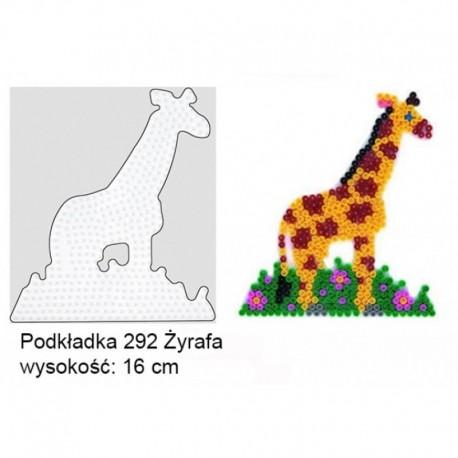 Hama - 292 - Podkładki do Koralików Hama Midi - Żyrafa