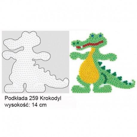 Hama - 25942 - Podkładki do Koralików Hama Midi - Krokodyl