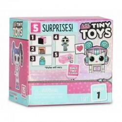 L.O.L SURPRISE Pudełko Niespodzianka TINY TOYS Laleczka Mini + Akcesoria 565802