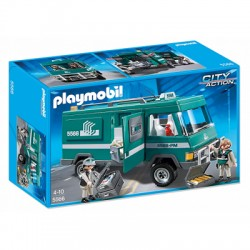 PLAYMOBIL 5566 CITY ACTION Transport Pieniędzy