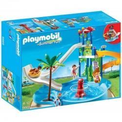PLAYMOBIL 6669 SUMMER FUN Aqua Park ze Zjeżdżalnią